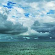 Breaking Clouds In Key West, Florida Art Print