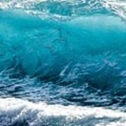 Breaking Wave At Kekaha Beach Art Print