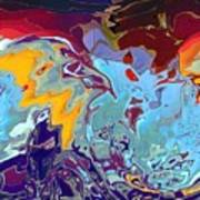 Breaking Waves Art Print