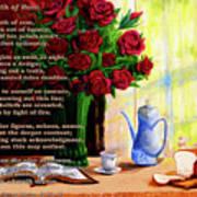 Breath Of Rose Art Print