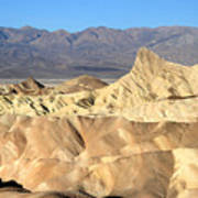 Breath Taking Landscape Of Zabriskie Point Art Print