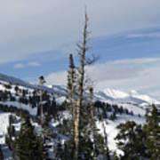 Breckenridge Resort In Summit County Colorado Art Print