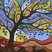 Breeze Among The Branches Art Print
