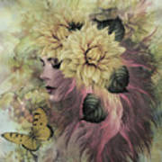 Breeze Blowing With Fragrance Art Print