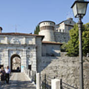 Brescia Castle Art Print