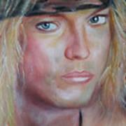 Bret Michaels Art Print