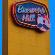 Brewers Hill Retro Art Print