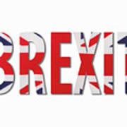 Brexit Art Print