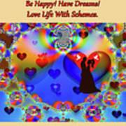 Brian Exton Forever In Love  Bigstock 164301632  2991949 Art Print