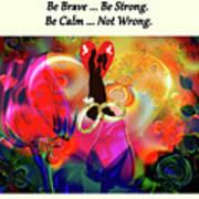 Brian Exton Love Light And Roses  Bigstock 164301632  231488 Art Print
