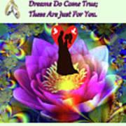 Brian Exton Sacred Flower Of Love  Bigstock 164301632  2991949  12779828 Art Print