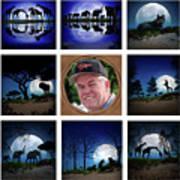 Brian's Collage 2 Art Print