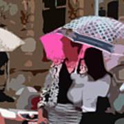 Bribane In The Rain #2 Art Print