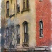 Brick Alley Art Print