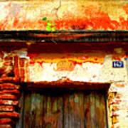Brick And Wood By Darian Day Art Print