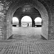 Brick Arch Art Print
