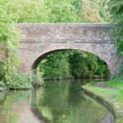 Brick Canal Bridge  Art Print
