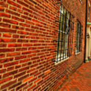 Brick Houses Art Print
