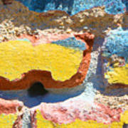 Brick In Sun Art Print