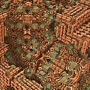 Bricks And Mortar Art Print by Lyle Hatch