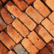 Bricks Made From Adobe Art Print