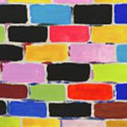 Bricks Of Life Art Print