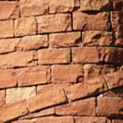 Bricks Spiraling Art Print
