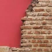 Bricks, Stones, Mortar And Walls - 3 Art Print