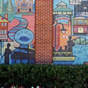Bricktown Mosaics Art Print