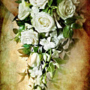 Bridal Bouquet Art Print by Meirion Matthias