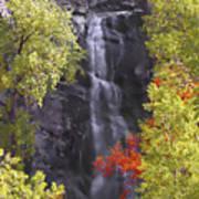 Bridal Veil Falls Black Hills Art Print