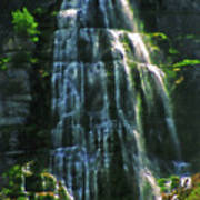 Bridal Veil Falls Canvas 2 Art Print