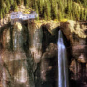 Bridal Veil Falls Power Plant - Telluride - Colorado Art Print