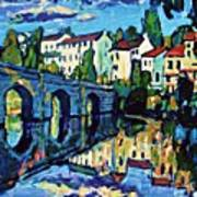 Bridge Across Art Print