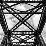 Bridge And Sky Art Print