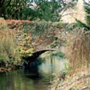 Bridge At Blarney Castle Art Print