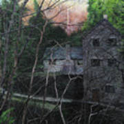 Bridge At Bontuchel Art Print