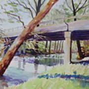Bridge At Camp Verde Art Print