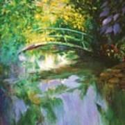 Bridge At Giverny Art Print