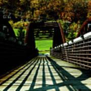 Bridge At Killington Art Print