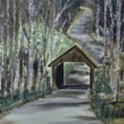 Covered Bridge Sleeping Bear Dunes  Art Print