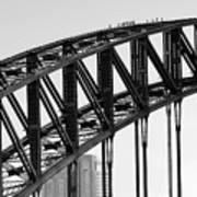 Bridge Climb 1 Art Print