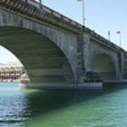 Bridge From London Art Print