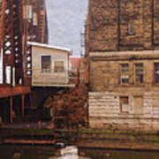 Bridge House Art Print