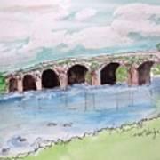 Bridge In Ireland Art Print
