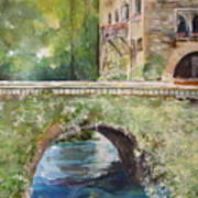 Bridge In Spain Art Print