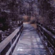 Bridge In The Shenandoah Art Print