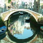 Bridge In Venice Art Print