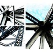 Bridge Jux 1 Art Print