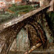 Bridge Luis I-Oporto Art Print